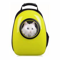 Mochila Para Transporte De Cães E Gatos Cápsula Espacial