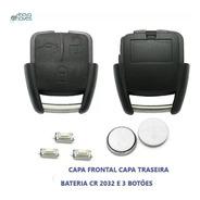 Kit Capa Chave Vectra Astra C/ Bateria E Botões