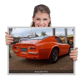 Fotografias Carros Nacionais Puma Gte 1973 (tam. A2)