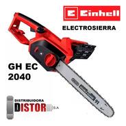 Motosierra Electrica Electrosierra Einhell 2000w +guantes