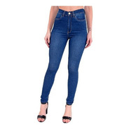 Calça Jeans Cigarrete Com Cinta Feminina Revanche Marianne