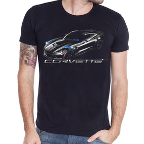 Remera Rever Pass Manga Corta Corvette 2016 E7s (2468)