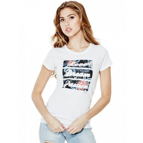 Remera Guess Jaylee Love Dream Passion Tee Talle M Y L