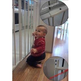 Puerta escalera bebe puertas de seguridad para beb s al - Proteccion escaleras ninos ...