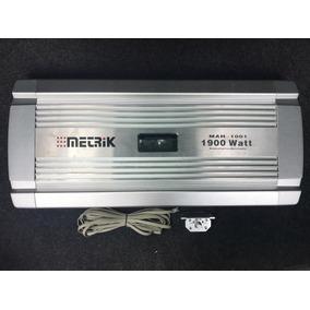 Amplificador Metrik Mah-1001 1900 Watts