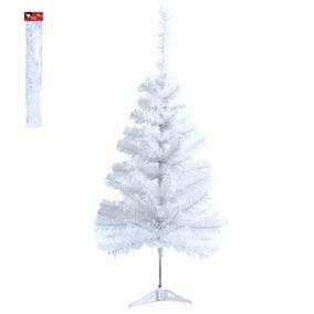 Árvore De Natal Branca 90cm 70 Galhos