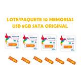 Lote/paquete 10 Memorias Usb 8gb Adata Original Pc,lap,mac,