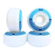 Roda Para Skate Importada Emex 53mm - Serie 4at Blue 102a