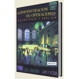 Administracion De Operaciones 5ta Ed Krajewski - Digital
