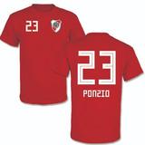 Remera Ponzio 23 River Plate