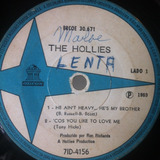Compacto Lp Vinil The Hollies Rock Anos 60 Odeon 1969