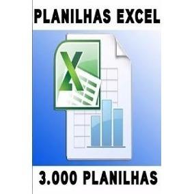 Pacote De Planilhas No Excel + Bonus