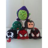 Tsum Tsum Tejido A Crochet Disney, Marvel, Dc Comic