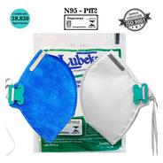 Kit 20 Mascaras N95 Cirurgica Pff2 Sendo 10 Azul E 10 Branca