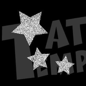 Stencil Plantillas Estrellas Insumos Para Tatuajes En Mercado