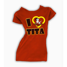 Playera Personalizadas Betty Boop I Love Tita 100% Nueva