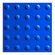 140 Pçs Piso Tátil Alerta Azul