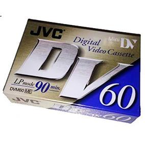 Mini Fita Jvc 60min Lp 90min Original Envio Gratis