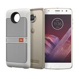 Motorola Moto Z2 Play Sound 64gb Câmera 12mp+5mp Dourado