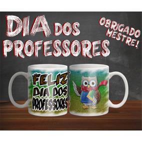 Caneca Presente Dia Dos Professores Em Polímero