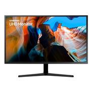 Monitor Led 32 Samsung Lu32j590uqlxzd Ultra Hd Cinza 4k