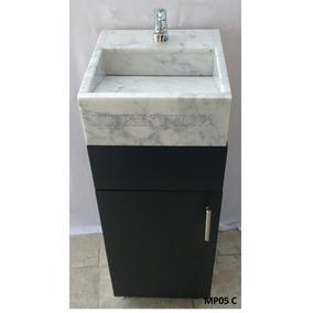 Lavabo Para Baño C Mueble Gabinete Pequeño De Oferta Nuevo