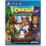 Crash Bandicoot Ps4 3 Juegos Español Fisico Entrega Inmediat