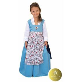 Disfraz Princesa Bella Y Bestia Campesina Luz T1 Educando