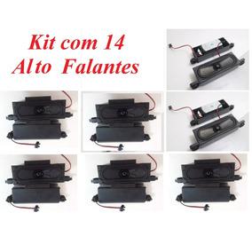 Kit 14 Alto Falante Philips 11w 6ohms Mini Paredão Caixa Som