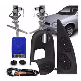 Kit Vidro Eletrico Corsa Sedan 2001 4 Portas Dianteiro