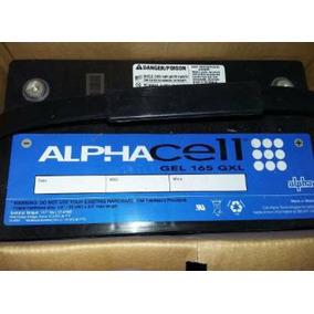 Bateria Alpha Cell 165 Gxl Gel De 12v 110a,900a De Arranque.