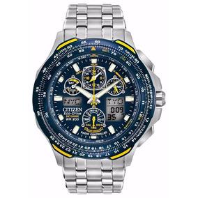 Reloj Citizen Eco-drive Piloto Aviador Blue Angels
