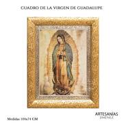 Cuadro Virgen De Guadalupe Original 92x73 Cm A821
