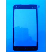 Touch Screen Glass Nokia Lumia 900 Solo Vidrio Nuevo!!!!!