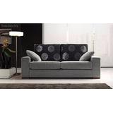 Sillon Sofa 2 Cps Alta Gama Con Placa Y En Chenille!!!!