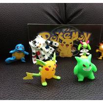 Pokemon Pikachu Raichu, Meowth, Squartle Maqueta 6pz