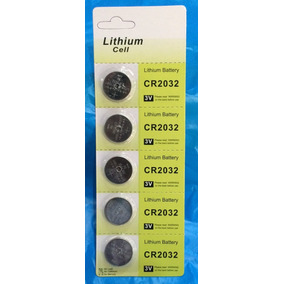 Bateria , Pilas Lithium Cr2032 , ( Tiras De 5 Unidades ).