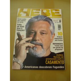 Revista Hebe Antônio Fagundes Maria Fernanda Cândido