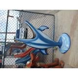 Lixeira Golfinho - Fibra De Vidro