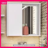 Modular Gabinete De Baño Moderno Con Espejo (gb3)