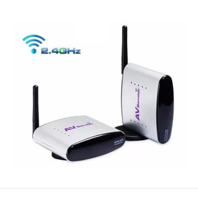 Kit Receptor E Trasmissor Av Para Televisão Wireless M007c