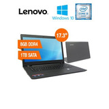 Notebook Lenovo Ideapad 110, 17.3 Led, Intel Core I3-6006u