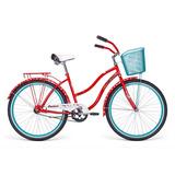 Bicicleta Mercurio Cruiser Rodada 26 Dama Salpicaderas 2018