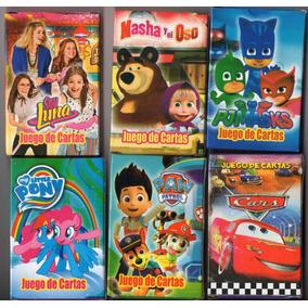 30 Mazos Naipes/cartas Infantiles Souvenir Pj Mask