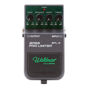 Pedal Para Baixo Waldman Bass Pro Limiter Controles Level En