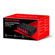 Switch Gigabit Mercusys Ms105g 5 Puertos 10/100/1000 Mbps