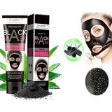 Mascara Negra De Limpieza Facial Carbón Volcánico