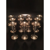 Copas Silver Plated, Licor Dulce,valerio ,spain