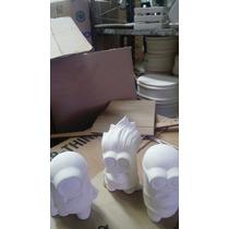 30 Figuras De Minions En Ceramica En Blanco Para Pintar