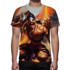 Camiseta League Of Legends Draven Gladiador - Frete Grátis
